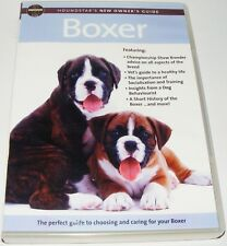BOXER DOG : Houndstars New Owners Guide--(Dvd)