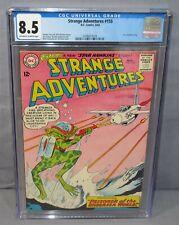 STRANGE ADVENTURES #155 (Star Hawkins story) CGC 8.5 VF+ DC Comics 1963