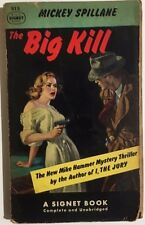 THE BIG KILL a Mike Hammer mystery by Mickey Spillane (1951) Signet pb 1st
