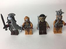 LEGO Mini Figure Lord of The Rings Mordor Orc Guandabad Orc Uruk-Hai Handprint