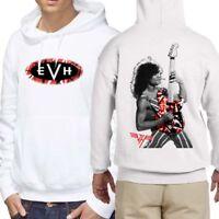New Eddie Van Halen Hoodie [Two Sides] New Men's Hoodie Longsleeve