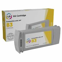 LD C4943A 83 Yellow Ink Cartridge for HP Printer