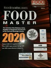 Food Master 2020 Ingredients R&D Services Database Book with Cannabis Catalogue