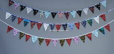 3 PC LOT Colorful Fabric Flags Banner Bunting Wedding Party Mandala Decor Hippie