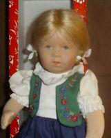 Käthe Kruse Puppe-Mädchen - Nina, 34 cm,  unbespielter Zustand