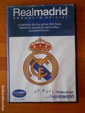 CD-ROM PC APRENDE MATEMATICAS CON EL REAL MADRID - 6-12 AÑOS PRIMARIA (Z7)