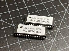 NEW! Set of Macintosh 128k ROM Chips