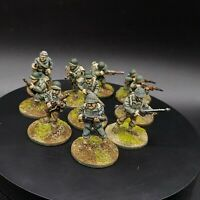 Painted 28mm Bolt Action us infantry ×10 Squad #1