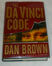 DaVinci Code by Dan Brown (2003,hcdj -true lst ed with errors in the text