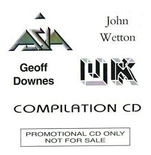 John Wetton / Geoff Downes - Asia - UK Compilation CD NEW