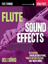 Flute Sound Effects Beatboxing Circular Breathing Fourth-Octave Playin 000128980