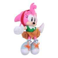 Sonic The Hedgehog Amy Rose Plush toy Stuffed Animal Rare Cute Kids Gift - 9 in
