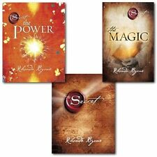 The Secret Series Rhonda Byrne 3 Books Set-The Secret, The Power & The Magic-NEW