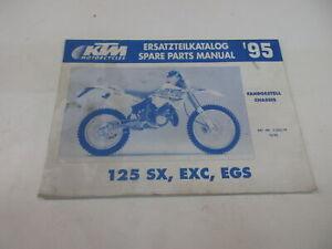 Ktm 125 SX EXC EGS Catálogo de Piezas de Repuesto Manual Chasis 3.203.79
