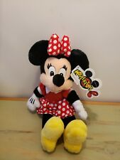 Walt Disney World Mouseketoys Vintage Plush Minnie Mouse Doll Stuffed Toy 13""