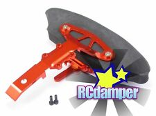 GPM ALUMINUM FRONT SKID PLATE w/FOAM BUMPER OR TRAXXAS 1/16 RALLY VXL MINI SLASH