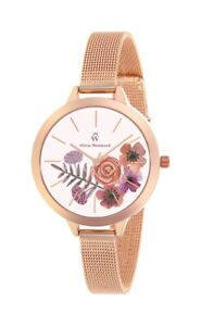 Designer Floral Ladies Watch From Olivia Westwood - Gift Idea