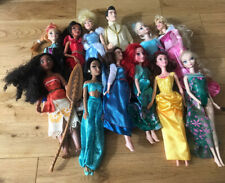 Paquete De Muñecas Disney Princesa Elsa Anna Belle Colección Moana Jazmín Cenicienta
