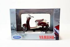 Welly 1999 Yamaha Vino YJ50R 1:18 Scale Diecast Motorcycle Model NEW