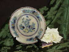 """COPELAND OLD SPODE Indian India Tree 9"""" Bowl Soup 1847- 67 Incised Crown Mark"""