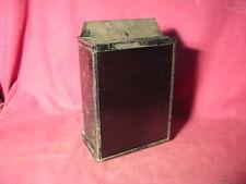 ANTIQUE ORIGINAL 1890s PHOTOGRAPHIC SAFE LIGHT DARK ROOM LANTERN OIL LAMP