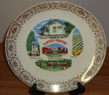 "Carter Country Plains Georgia 9.25"" Vintage collector's plate"