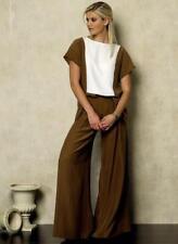 Vogue Sewing Pattern 8938 ses' Colorblock Tops Skirt Pants Size 6-14 UnCut