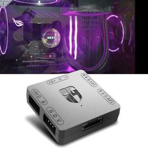 5V 3Pin to 12V 4Pin RGB HUB 5V to 12V Motherboard Light S RGB U Converter
