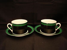 "Ambience by Fitz & Floyd CUP & SAUCER 2 1/4"" SET OF 2"