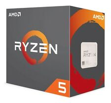 AMD RYZEN 5 1600X Socket AM4 CPU - 3.6GHz / 4GHz - 6C / 12T w/o Fan, Retail Box