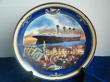 """""""The Smoking Room"""" 4th Issue Titanic: Queen of the Ocean Collector Plate"""