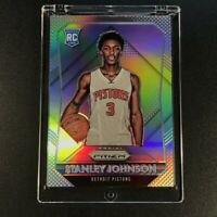 STANLEY JOHNSON 2015 PANINI PRIZM #320 SILVER REFRACTOR ROOKIE RC PISTONS NBA