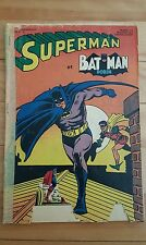 Superman et batman robin # 2 ,1967 edition interpresse