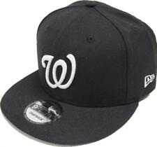 New Era Washington Nationals Black White Logo Snapback Cap 9Fifty Limited MLB