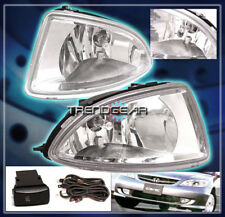 FOR 2004-2005 HONDA CIVIC 2/4DR BUMPER DRIVING FOG LIGHTS LAMPS CHROME