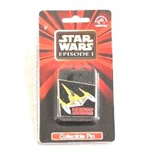 "Applause Naboo Starfighter 1 3/4"" Metal Collector's Pin from Star Wars Episode 1"