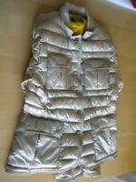 giubbetto giacca giubbotto bomber donna ragazza bambina beige taglia M piuma