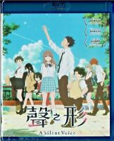 A Silent Voice:The Movie Blu-ray Region A Japanese Animation English Sub.(2017)