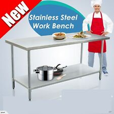 NEW  Bench Stainless Steel Pot Rack Under 1.8m