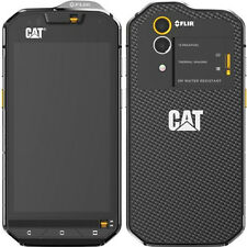 New cat S60 dual sim 32GB android sim free/unlocked tough smartphone-noir