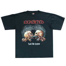 Vintage The Exploited Two Side Printed Tee