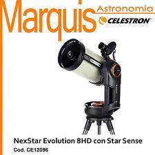 Telescopio CELESTRON NEXSTAR EVOLUTION 8HD  CE12096 con Star Sensor  Marquis