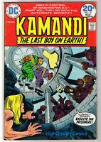 KAMANDI #15, FN+, Jack Kirby, Last Boy on Earth, 1972, more in store