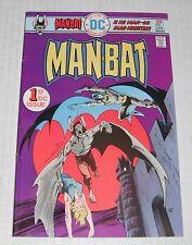 Man-Bat #  1 + 2 ..VF  8.0 grade--A...1976 Steve Ditko comics