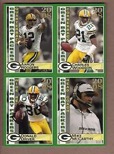 COMPLETE 2008 Green Bay Packers Police TEAM SET - Aaron Rodgers Driver Woodson +