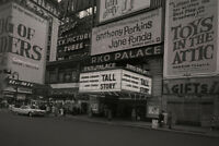 RKO Palace Archival B&W Movie Theatre Billboards Photo Art Print Poster 18x12