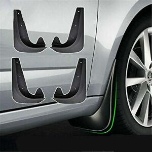 EVA Plastic Wearing Mud Flaps Splash Guards Fit For Car Front & Rear Fender 4PCS