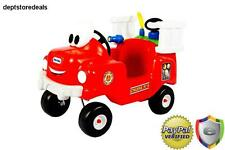 Fire Truck Spray Rescue Ride On Kids Boys Girls Toddler Car Toy Vehicle Water