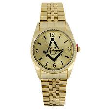 Brand New Men's Freemason Masonic Mason Watch w FreePersonalization Engraving