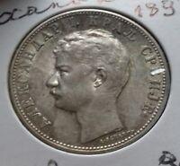 serbie 2 dinara alexandre 1er 1897 superbe !